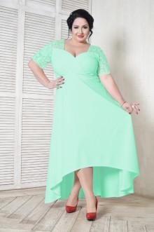 Платье 109402 ЛаТэ (Ментоловый)